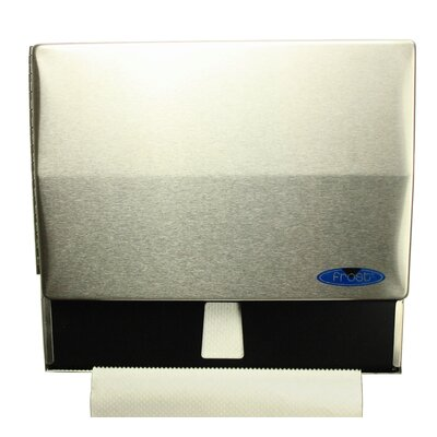Universal Paper Towel Dispenser Finish: Stainless Steel