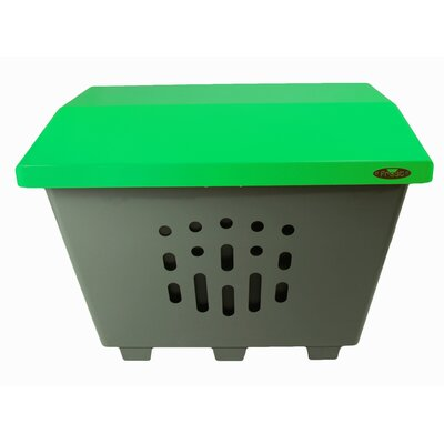 The Big Thaw Sand/Salt Storage Bin Color: Green 2000-GREEN