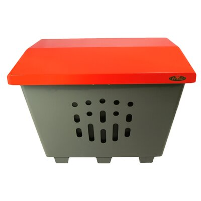 The Big Thaw Sand/Salt Storage Bin Color: Red 2000-RED