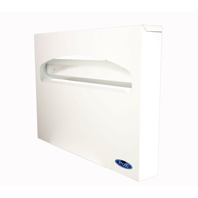Toilet Seat Cover Dispenser Finish: White