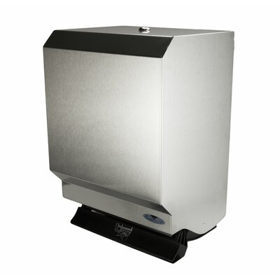 Control Paper Towel Dispenser Finish: Stainless Steel