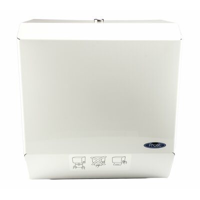 Auto Cut Paper Towel Dispenser Finish: White Epoxy Powder