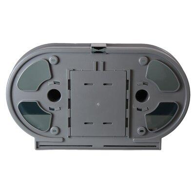 Double Jumbo Toilet Paper Dispenser
