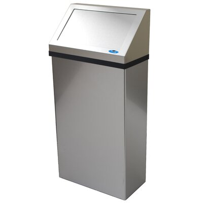 Asi Roval 20826 Stainless Steel Waste Receptacle