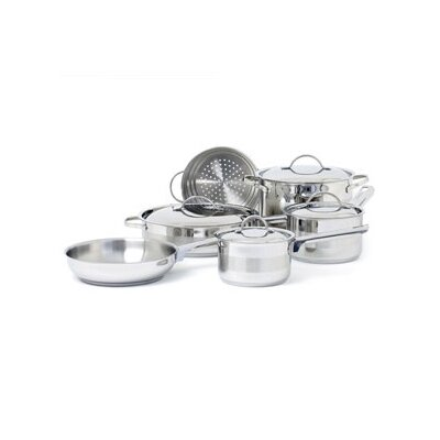 Cuisinox Gourmet 3-Ply Stainless Steel 10-Piece Cookware Set at Sears.com