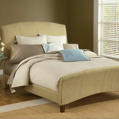 Edgerton Upholstered Sleigh Bed Size: King