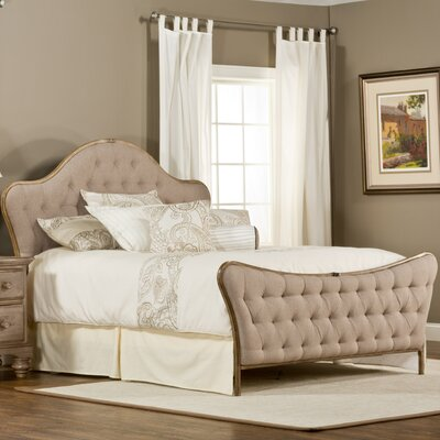 Briony Upholstered Panel Bed Size: King