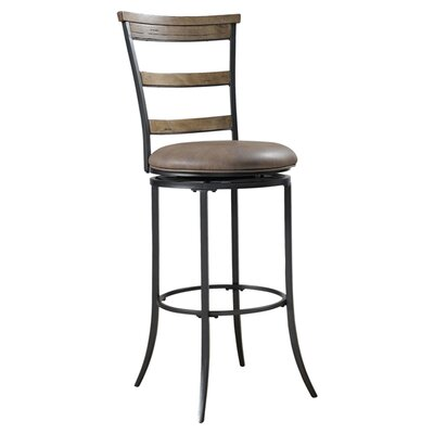 Charleston 26 Swivel Bar Stool