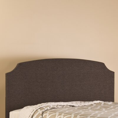Lawler Upholstered Panel Headboard Size: Twin, Finish: Brown