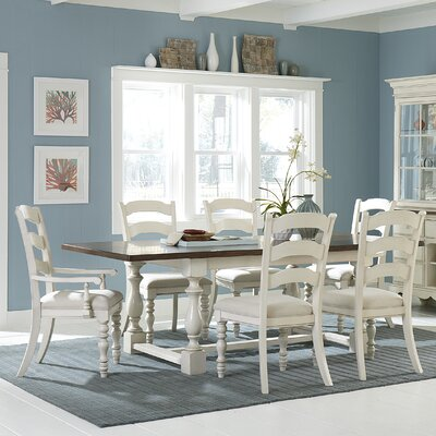 Dalton Side Chair Finish: White
