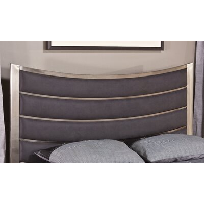Montego Upholstered Panel Headboard Size: King