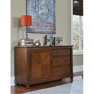 Hillsdale Bailey 3 Drawer Dresser - Finish: Mission Oak