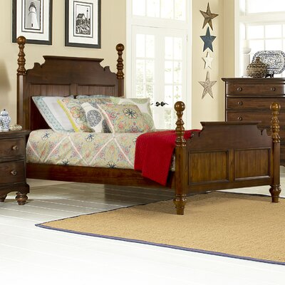 Hillsdale Pine Island Four Poster Bed - Size: King, Finish: Dark Pine at Sears.com