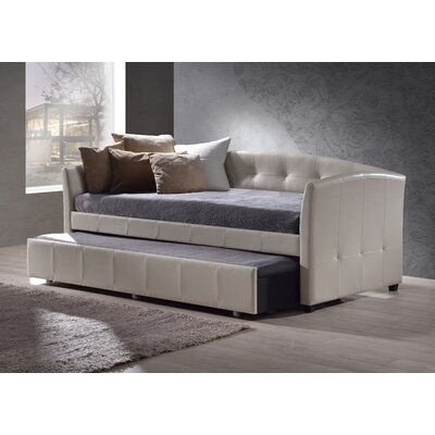 Napoli Daybed Color: Ivory, Accessories: With Trundle