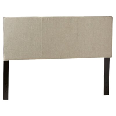 Isabella Upholstered Panel Headboard Size: King