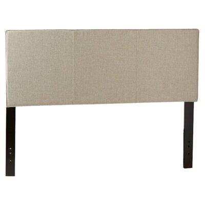 Isabella Upholstered Panel Headboard Size: King