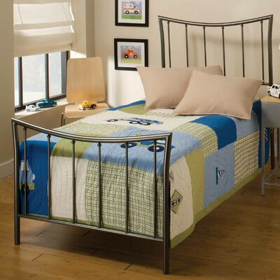Baptist Metal Frame Panel Bed Size: Full