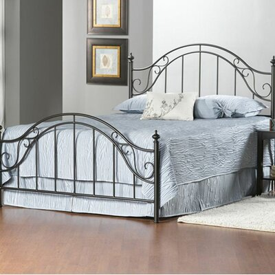 Clayton Panel Bed Size: King