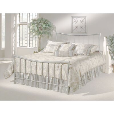 Baptist Metal Frame Panel Bed Size: King