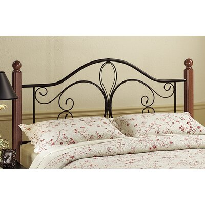 Anzilotti Open-Frame Headboard and Footboard Size: Twin