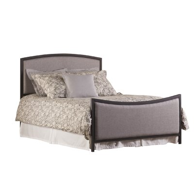 Bayside Upholstered Panel Headboard Size: Full / Queen, Color: Bronze