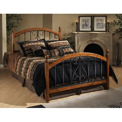 Burton Way Panel Bed Size: King