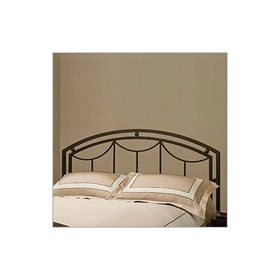 Delaney Full/Queen Size Metal Headboard in Bronze with Optional Frame