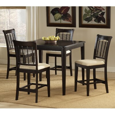 Cheap Hillsdale Bayberry 5 Piece Cherry Counter Height Dining Table Set (HF3302)