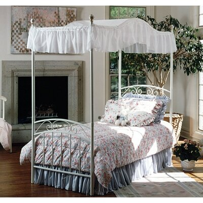 Buy Low Price Emily Bed With Canopy Size Twin Hf1444 642834
