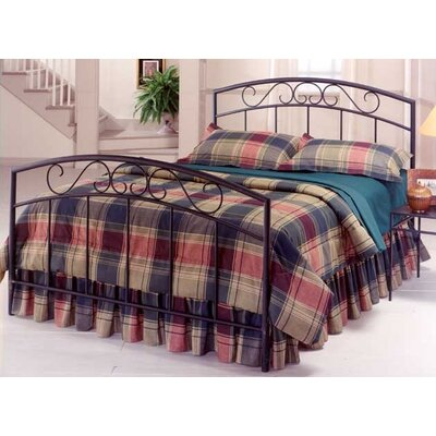 Easy financing Wendell Metal Bed Size: Full, Finis...