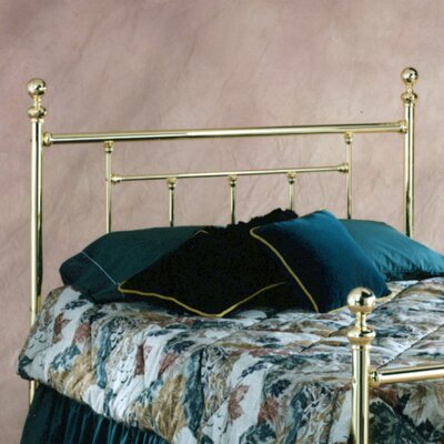 Rent to own Chelsea Metal Headboard Size: King...