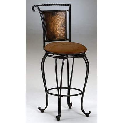 "Credit for Milan 30"" Swivel Bar Stool..."