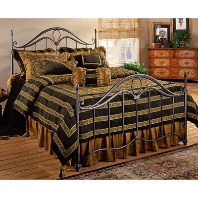 Loan for furniture Kendall Metal Bed Size: King...