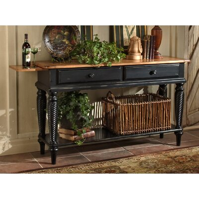 Cheap Hillsdale Wilshire Black Sideboard Table (HF2808)