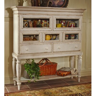 Cheap Hillsdale Wilshire White Sideboard Cabinet (HF2803)