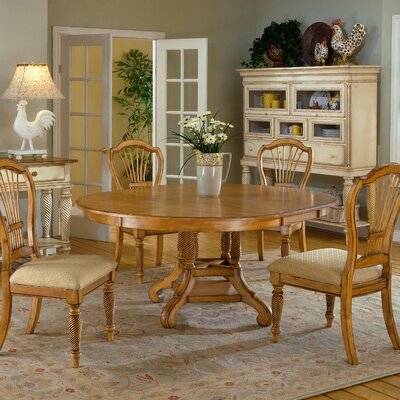 Buy Low Price Hillsdale Wilshire 5 Piece Antique White Counter Height Dining