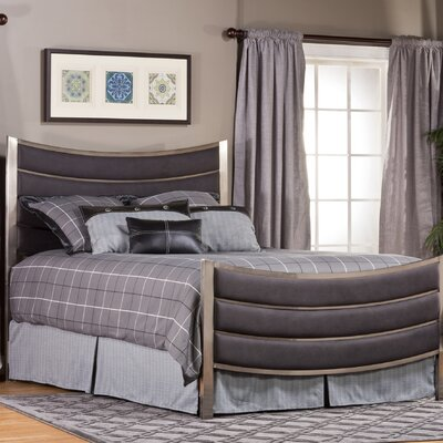 Montego Upholstered Panel Bed Size: Queen