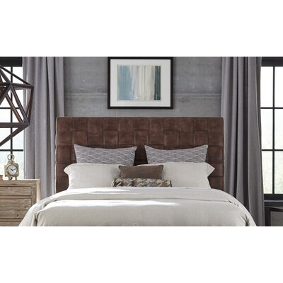 Riley Upholstered Sleigh Headboard Size: Queen