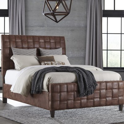 Riley Upholstered Panel Bed Size: King