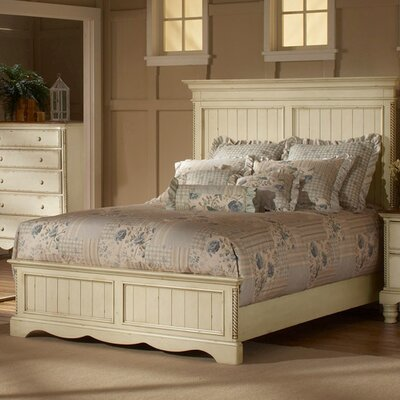 Wilshire Panel Bed Size: King