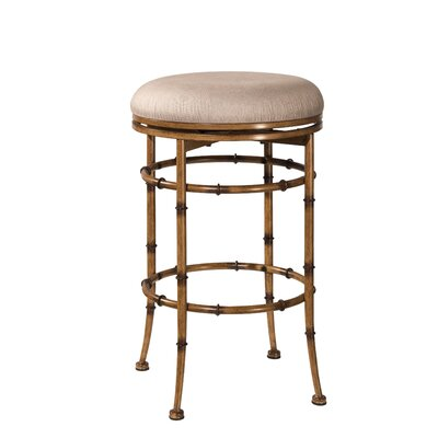 Lisbeth Backless 26 inch Swivel Bar Stool