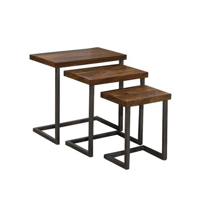 Crenata 3 Piece Nesting Tables