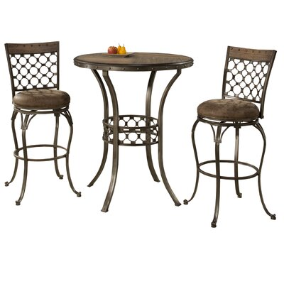 Beacon Falls 3 Piece Pub Table Set