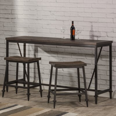 Trevino Counter Height 3 Piece Pub Table Set