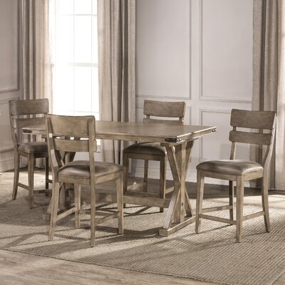 Rowtag 5 Piece Counter Height Dining Set