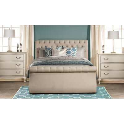 Aldfreck Upholstered Panel Bed Size: King