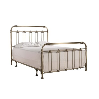 Despagne Soft Gold Panel Bed