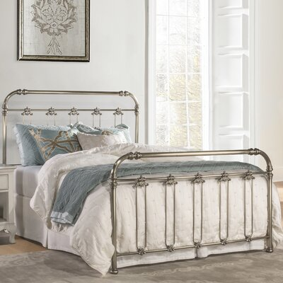 Despagne Metal Panel Bed Size: King