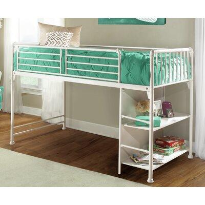 Julia Junior Twin Bed Color: White