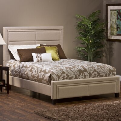 Kiki Upholstered Panel Bed Size: Queen